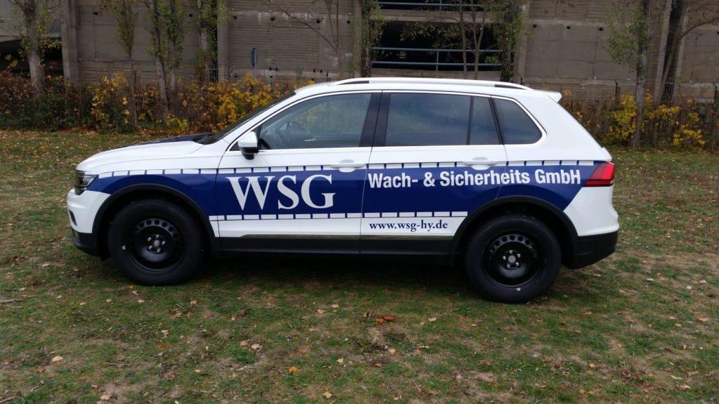 Dienstwagen WSG Wach- und Sicherheits GmbH